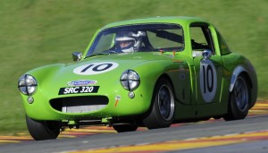 Dominic Racing the Sebring Sprite