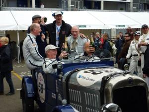 Le Mans Classic 1932 citroen C5 with Midland Classic Restorations