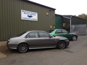 Pair of MG ZT-260's