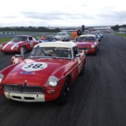 MGB's At Donington